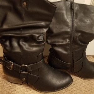 Brown Boots Size 10